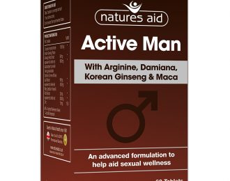 Active Man with Arginine, Korean Ginseng and Maca