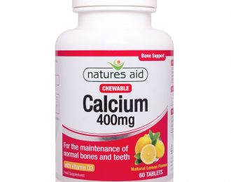Calcium (Chewable) 400mg (with Vitamin D3)