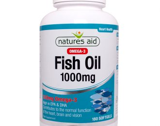 Fish Oil 1000mg (Omega-3)