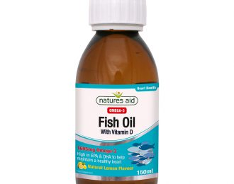 Fish Oil (Omega-3) Liquid (with Vitamin D3)