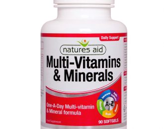 Multi-Vitamins & Minerals (with Iron)