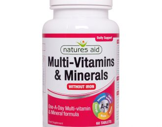Multi-Vitamins & Minerals, No Iron