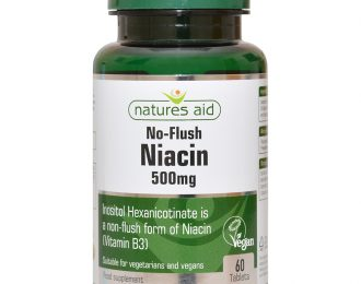 Niacin (Non-Flush) 500mg (Vitamin B3)