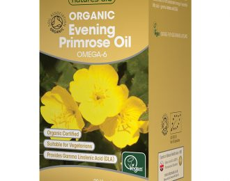 Organic Evening Primrose Oil 500mg (Cold Pressed)