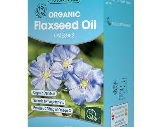 Flaxseed Oil – Cold-Pressed (Omega-3,6 & 9)