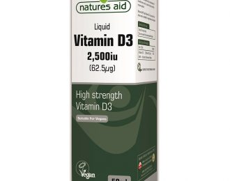 Vitamin D3 2,500iu Liquid