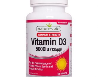 Vitamin D3 5000iu (125ug) High Strength