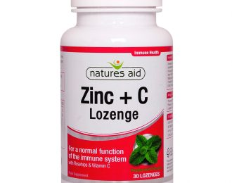 Zinc Lozenge (Peppermint) with Rosehip + Vitamin C
