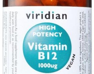 High Potency Vitamin B12 Veg Caps
