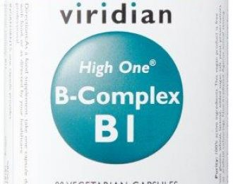 HIGH ONE™ Vitamin B1 with B-Complex Veg Caps