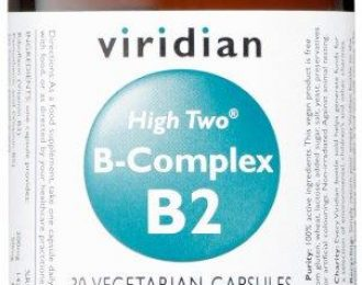 HIGH TWO™ Vitamin B2 with B-Complex Veg Caps