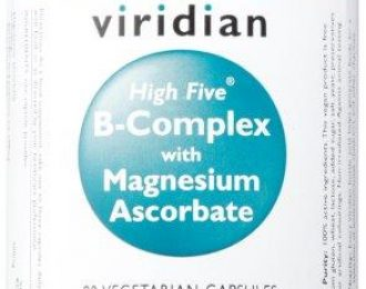 HIGH FIVE™ B-Complex/Mag Ascorbate Veg Caps