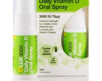 DLux Vitamin D Oral Spray 3000IU (75μg)