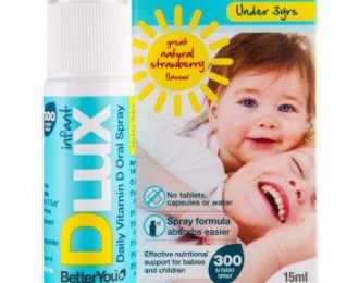 DLuxInfant Vitamin D Oral Spray For Babies & Children Under 3