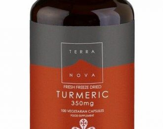 Fresh Freeze Dried Organic Turmeric Root 350mg